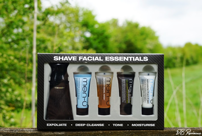 men-ü Shave Facial Essentials Kit