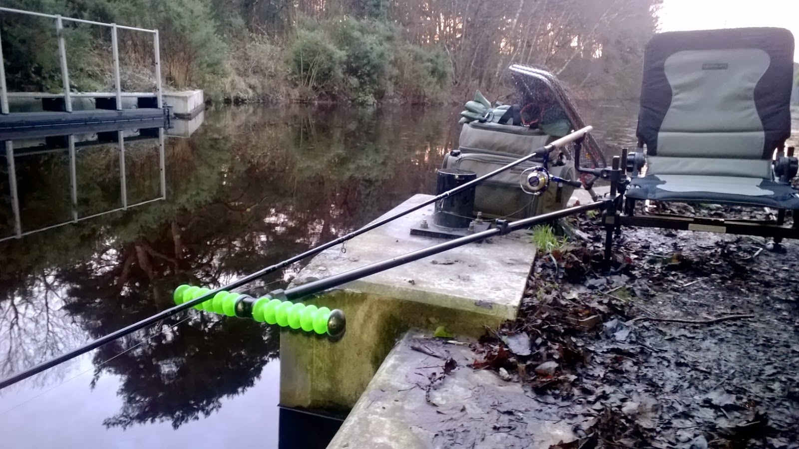 Fishing Chair Setup High Heel Shoe Plans A South East Angler New Korum