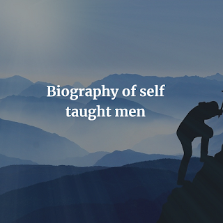 Biography of self-taught men PDF book