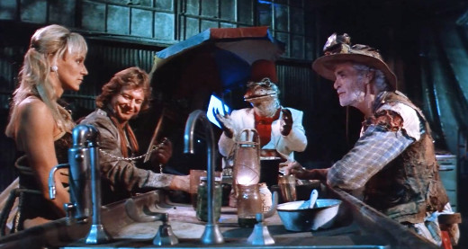 Saloon scene from Hell Comes to Frogtown, 1988