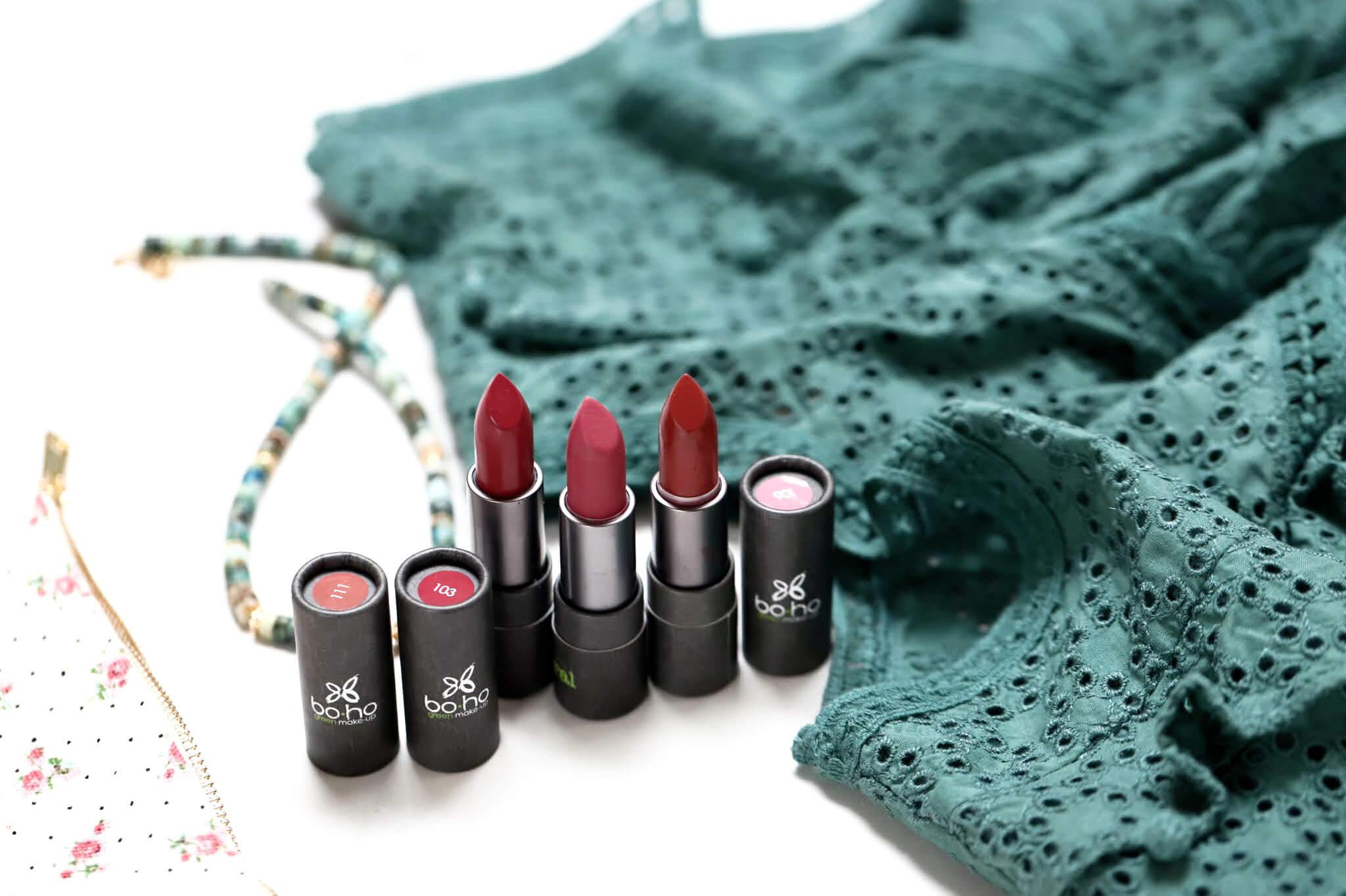 boho rouge à lèvres naturels