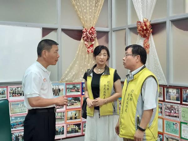彰化榮服處與緞帶王觀光工廠簽訂特約商店