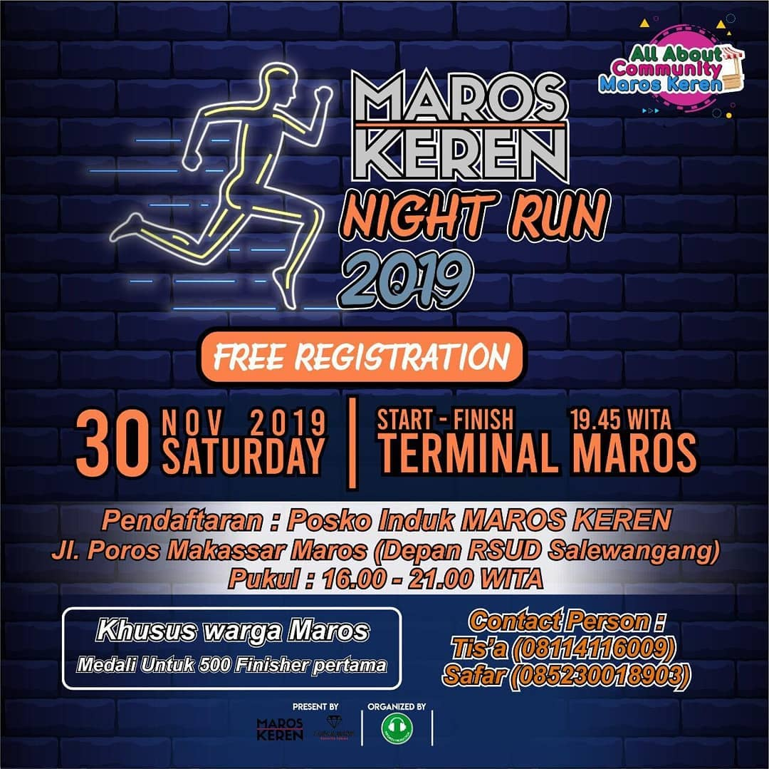 Maros Night Run • 2019