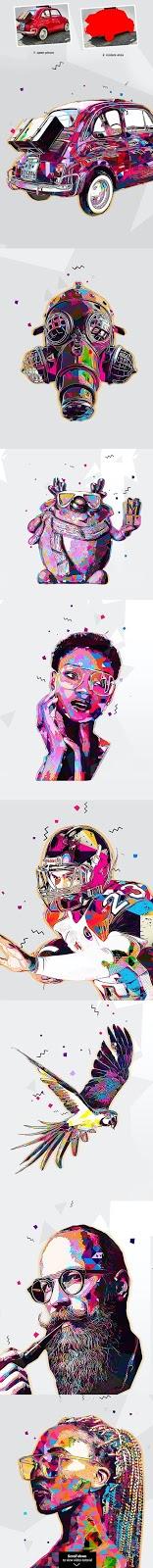 Pop Art   Photoshop Action 27213038.