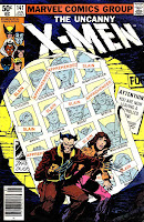 X-men v1 #141 marvel comic book cover art by John Byrne