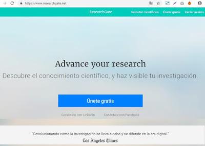 red-social-de-investigacion-researchgate.net