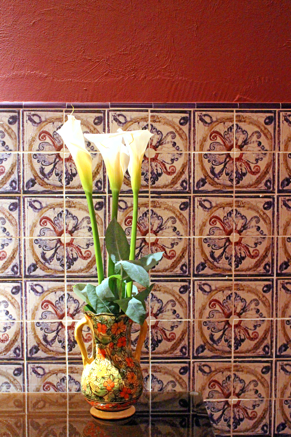 Cala lilies at Palacio del Inka, A Luxury Collection Hotel, Cusco, Peru - lifestyle & travel blog