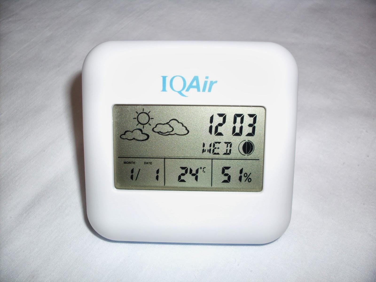 Гигрометр метеостанция IQAir AC-201B