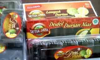 Dodol Durian Oleh Oleh Khas Nias