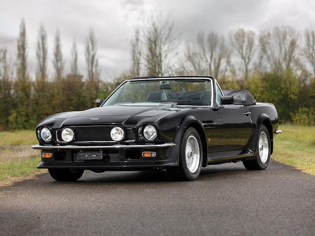 1989 Aston Martin V8 Vantage - #Aston_Martin #V8 #Vantage #classic_car