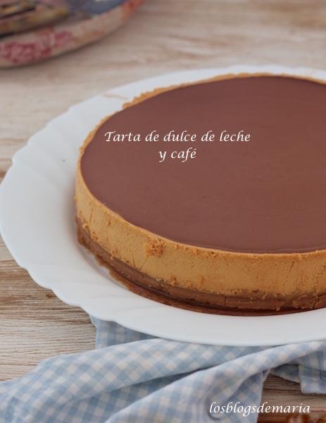 Tarta de dulce de leche y café
