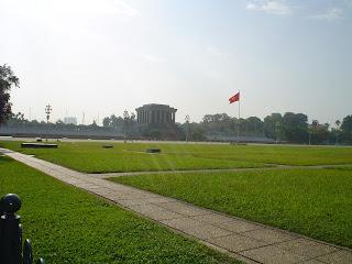 Le mausolée de Ho Chi Minh