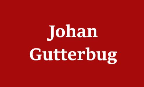 History of Johan Gutterbug