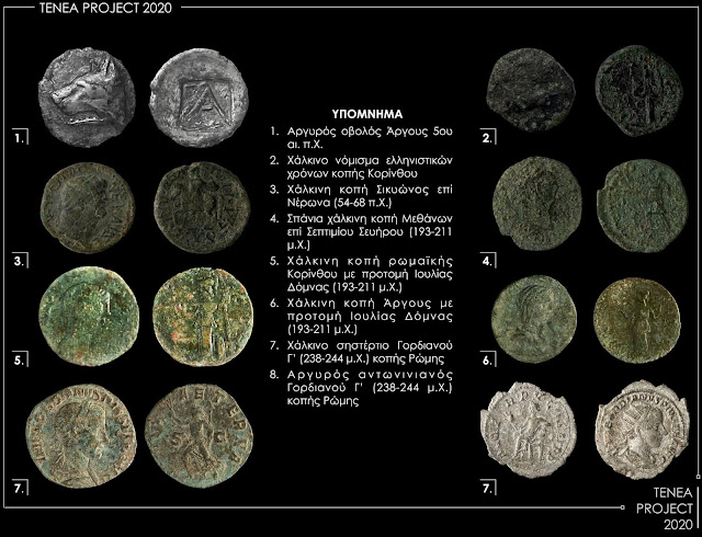 2020 results of the Ancient Tenea research program at Chiliomodi, Corinth