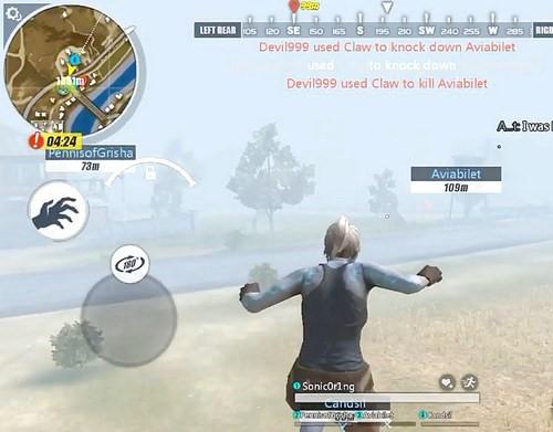 Loại game zombie là một trong chế độ chiến bắt đầu