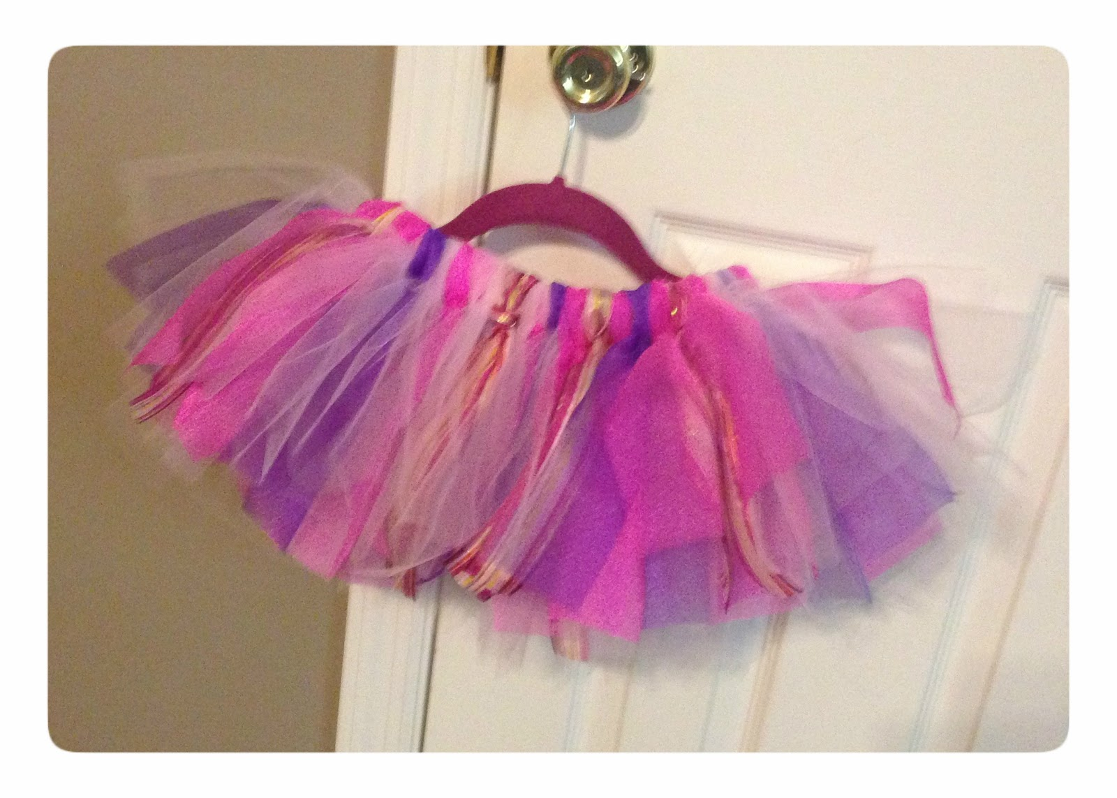 Diy Tutu Using Ribbon And Tulle