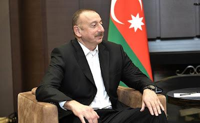 President of Azerbaijan Ilham Aliyev.