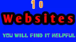 Top 10 Amazing Websites Should use in 2020-21