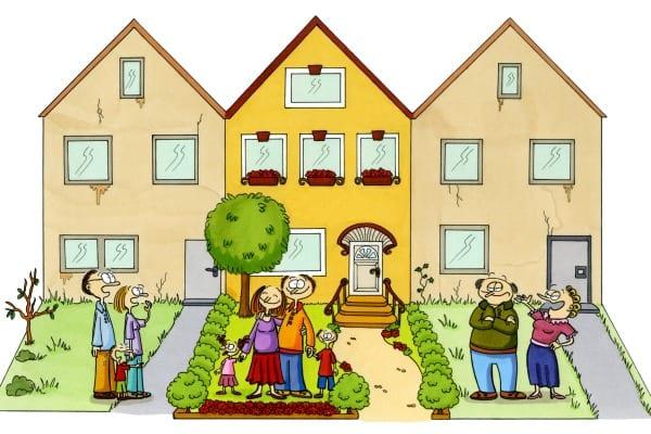 komşu hakları, komşuluk hakları,  müsaade mecburiyeti