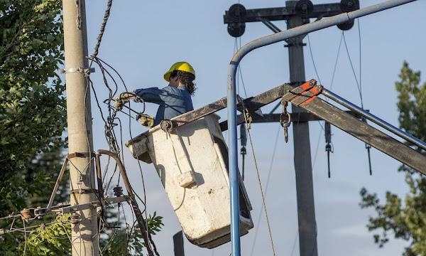 Un corte de electricidad a las 500 Viviendas y alrededores