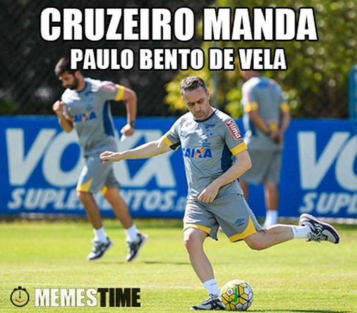 Memes Time Paulo Bento no Cruzeiro – Cruzeiro manda Paulo Bento de Vela