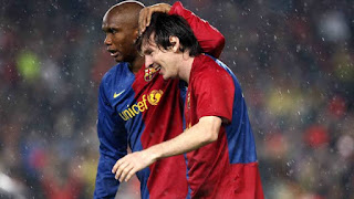 'I'm really happy that my son Messi has stayed': Former Barca Striker