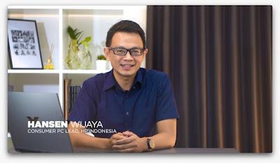 Hansen Wijaya Consumer lead PC HP Indonesia
