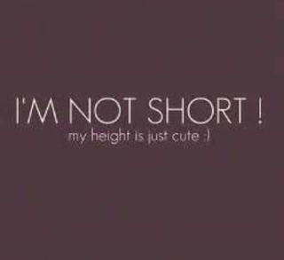 short cute girl