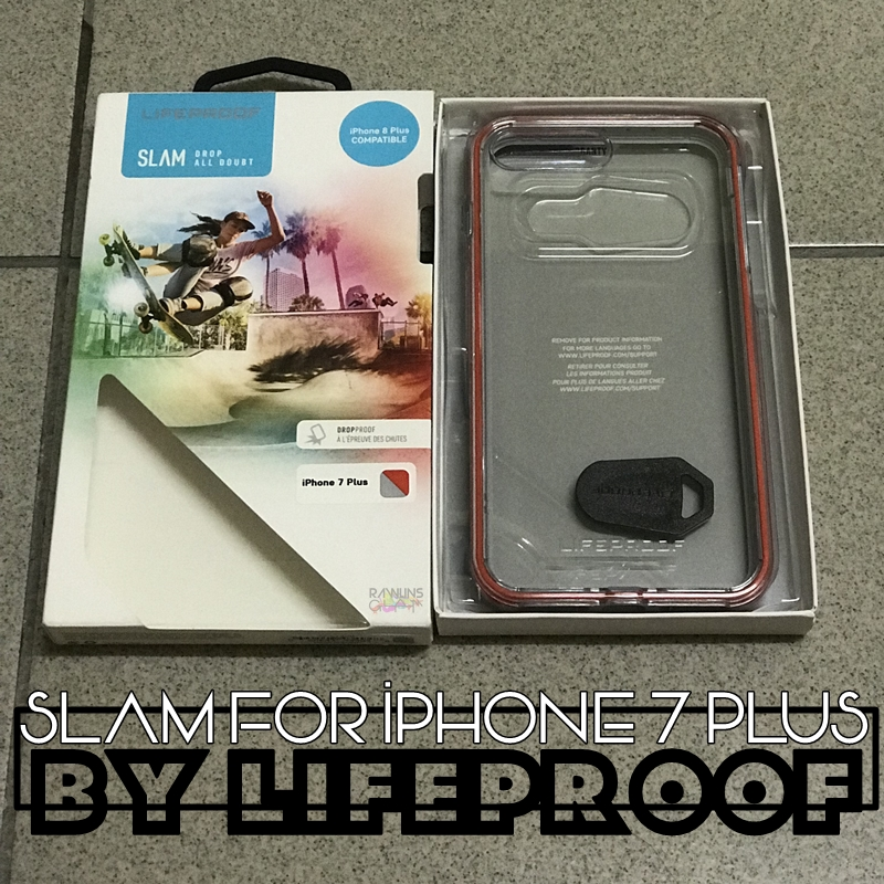 Lifeproof, SLAM for iPhone 7 Plus, iphone casing, Lifeproof Asia, Rawlins Gadget, iPhone lover, iphone cracked screen