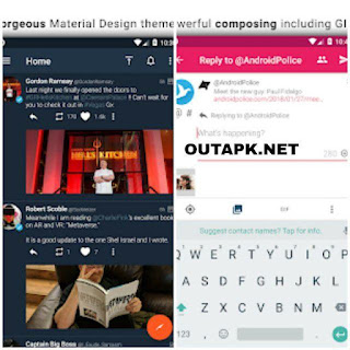 Tweetings for Twitter v13.1.2 [Patched] Apk