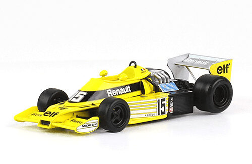 Renault RS 01 1977 Jean Pierre Jabouille f1 the car collection