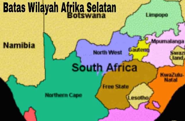 Batas Wilayah Afrika Selatan
