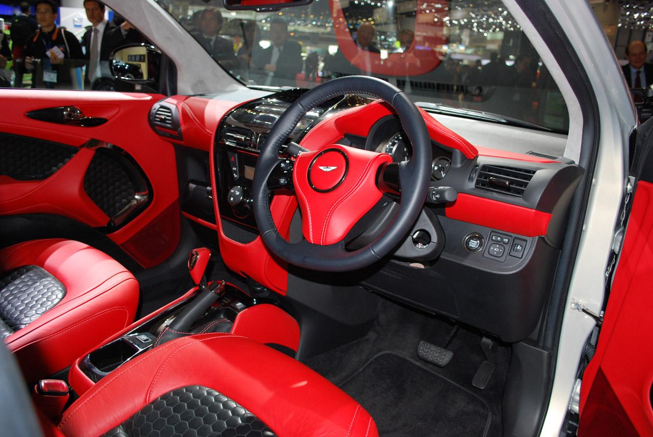 Aston Martin Cygnet Interior Mobile Wallpapers