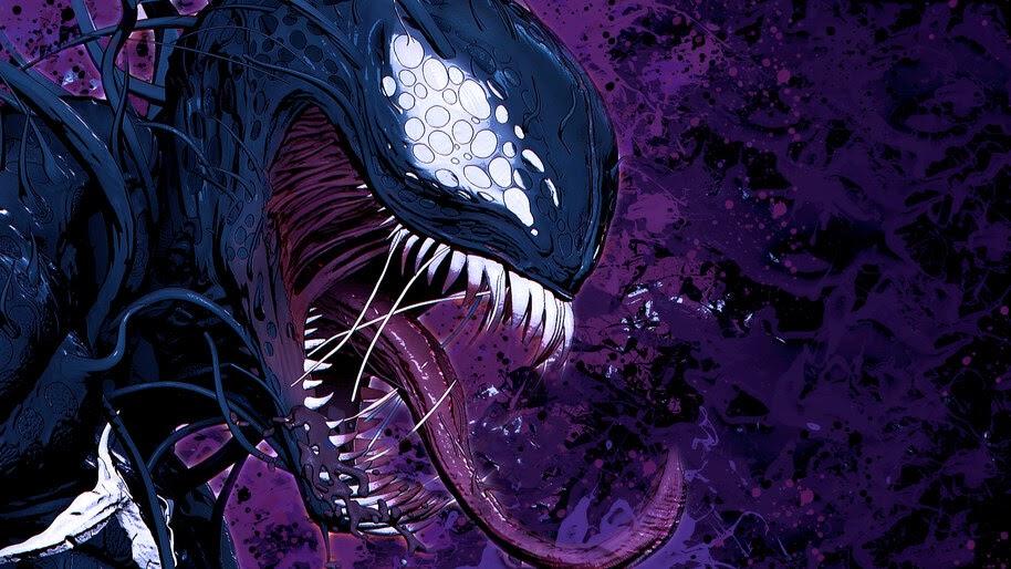 Venom, Marvel, Comics, 4K, #4.2931