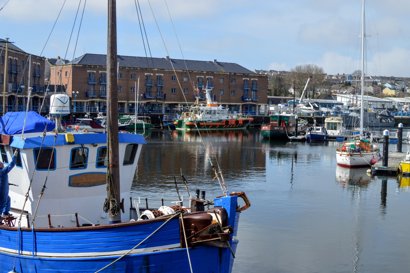, Easter Egg Trail at Milford Marina
