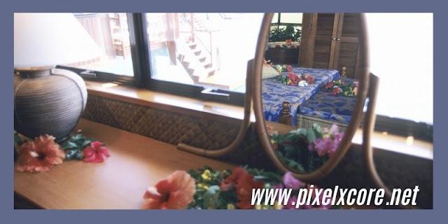 Kaca Cermin Dinding yang Diaplikasikan Pada Jendela