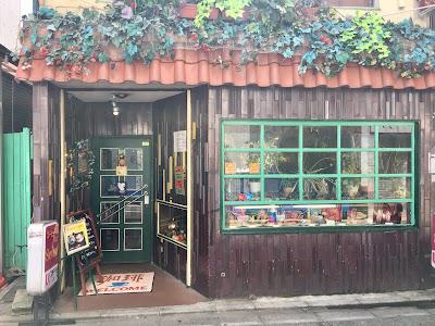 三軒茶屋にある喫茶店セブンの外観