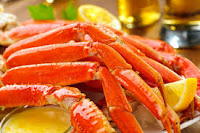 All you can eat Crab legs in the Smokies