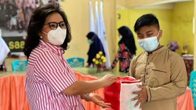 Bulan Ramadhan, Ibu Rita Berbagi di Panti Asuhan Darus Saadah Manado