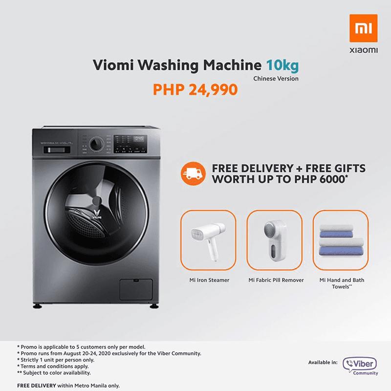 Viomi Washing Machine 10kg promo today
