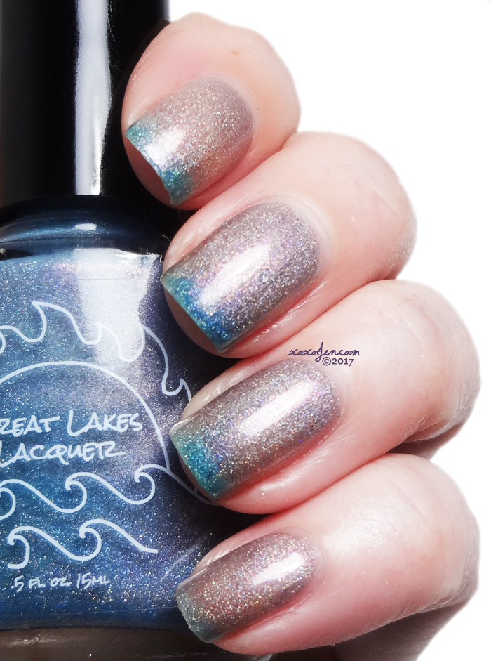xoxoJen's swatch of Great Lakes Lacquer It Can't Rain All The Time