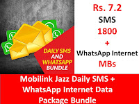 Jazz Packages, Jazz Daily Packages, Jazz Internet Packages, Jazz Daily Internet Packages, Jazz Social Packages, Jazz Social WhatsApp Packages, Jazz WhatsApp Packages