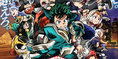 تقرير فيلم الانمي Boku no Hero Academia Movie 3 (مهمة أبطال العالم)