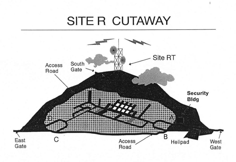 About camp david raven rock mountain complex site r cutaway released by the department of defense in response to a 1999 foia request malvernweather Image collections