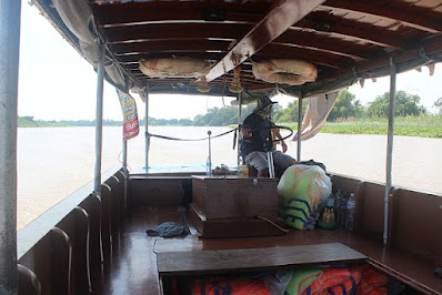 Boot Tour Chao Phraya River Thailand