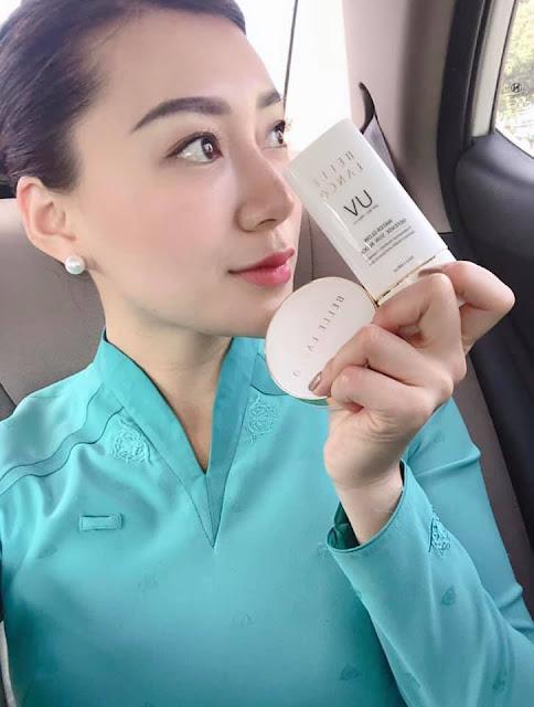 Review kem chống nắng Belle Lanco - Bí quyết có làn da đẹp không tỳ vết của tiếp viên hàng không Hàn Quốc