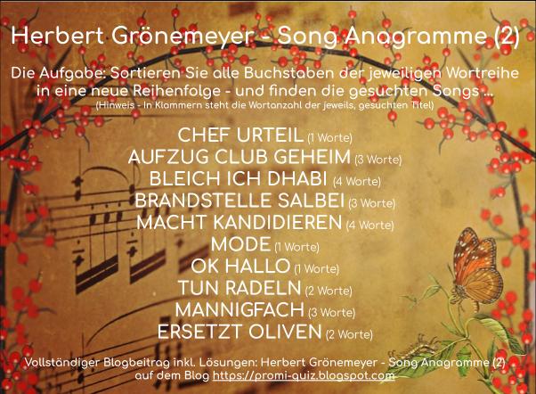 Herbert Grönemeyer Rätsel, Quiz mit Herbert Grönemeyer Songs, Denkaufgabe, Fanquiz, Herbert Grönemeyer songquiz, Raten mit Herbert Grönemeyer