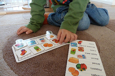 Shopping List game from Orchard Toys
