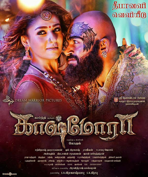 Poster of Kaashmora 2016 UnCut 720p [Hindi-Dubbed] HDRip With ESubs Download