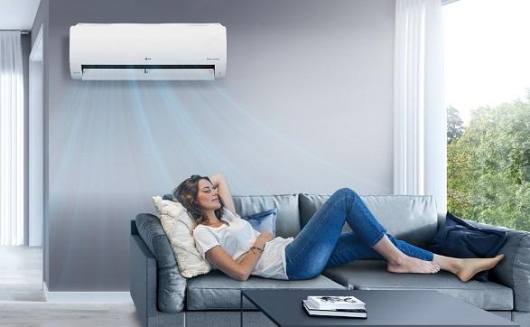 LG ThinQ App Fresh Air Mode